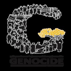 """Το λογότυπο """"G"""" για τα 100 χρόνια από την Γενοκτονία των Ποντίων."""